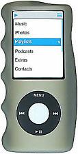 Hand Grip Silicone Sleeve for 4th Generation iPod Nano (Smoke)