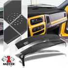 Defrost Vent Grille Cap+Dashboard Cover Overlay for 02-05 Dodge Ram Truck 150