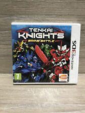 NEW SEALED NINTENDO 3DS TENKAI KNIGHTS BRAVE BATTLE