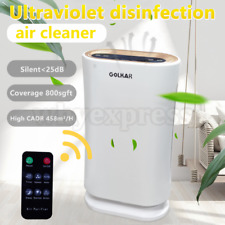 Large Room Air Purifiers Uv disinfect Hepa Home Air Cleaner for Allergies Smoke
