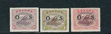 PAPUA NEW GUINEA 1931-32 LAKATOI (SG O8-O10) VF MNH
