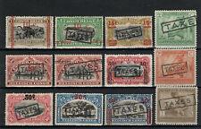 BELGISCH CONGO: Lotje strafportzegels  POSTFRIS * MH ==> ZIE SCAN.
