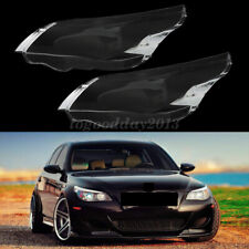 For BWM E60 E61 525i Car Lampcover Headlight Cover Headlamp Lens Lense Lampshade
