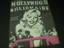 WEREWOLVES are Hollywood Millionaires with JAYNE MANSFIELD 1978 Promo Ad MINT