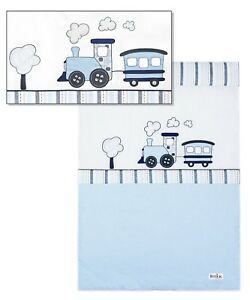COMFORTER FOR BABY/TODDLER/KID,PLAYMAT WITH EMBROIDERED APPLIQUE, TRAIN DESIGN