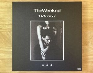 """The Weeknd Trilogy 5 Year Anniversary 6LP Vinyl Limited 12"""" Record /1000 2017"""