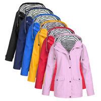 Fashion Women's Hooded Jacket Solid Warm Outdoor Mountaineering Wear Coat S-5XL
