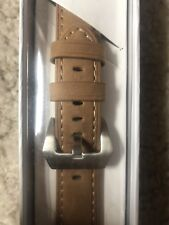 Apple Watch Band 42mm Light Brown NEW