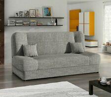Schlafsofa Jonas Sofagarnitur Sofa Couch mit Schlaffunktion und Bettkasten M24