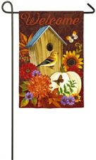Welcome Birdhouse Garden Flag! MAKE AN OFFER!!!