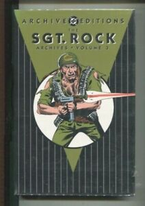 SGT. ROCK ARCHIVES VOLUME 3 DC HARDCOVER SILVER AGE WAR ISSUES 111-125 NEAR MINT