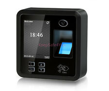 TCP/IP Biometric Fingerprint Time Attendance and Access Control System Terminal