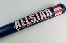 "Pre-Owned Softball Bat Worth 600 Fp Allstar Red White Blue Star Wooden 34.5"""