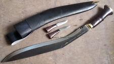 "Sirupate 15"" Raw Khukuri, kukri, genuine, gurkha knife, Nepal, khukuri palace"