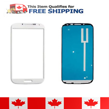 Samsung Galaxy Note 2 White Front Glass Lens And Adhesive Sticker