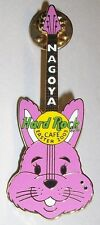 Hard Rock Cafe Nagoya Easter Pink Bunny Guitar 2003 Pin Le 300