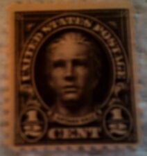 1922 Scott 551 Nathan Hale one new 1/2 cent stamp