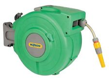 Hozelock HOZ2490 Water Hose with Retractable Reel, 65-Feet (Green)