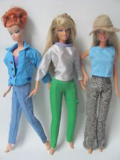 lot barbie doll clothes dresses accessories 3 outfits 3 hangers 3 shoes 3 New