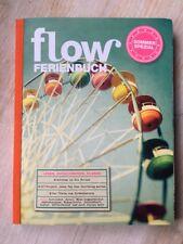 NEU flow Ferienbuch mit allen BEILAGEN 2015 Basteln Hygge Sommer Frühling