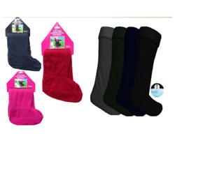 Ladies welly Boot Liner Socks Winter Wellington Socks Size 4-7
