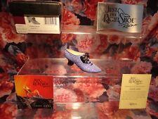 "Just The Right Shoe Raine Originals - ""French Velvet "" 2001 New"