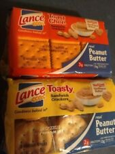Lance Toast Chee & Toasty Peanut Butter Sandwich Crackers (6 individual,4 packs.