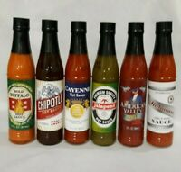 Dat'l Do-It Hot Sauces 3Fl OZ Assorted Varieties Chipotle, Buffalo, Cayenne, Hab