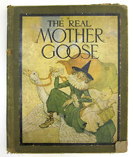 The Real Mother Goose 1916 great illustrations 10 x 12