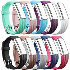 10 Pack Fitbit Alta HR Bands Soft Strap Replacement Wristband Luxury Bracelet US