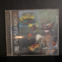 Crash Bandicoot Warped PS1 Black Edition Disk CIB