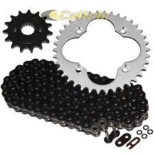 Black O-Ring Drive Chain & Sprockets Kit Fits HONDA TRX400EX Sportrax 400 99-04