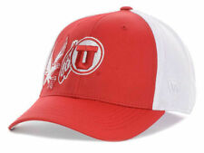 ec0b4ccf166 Utah Utes Top of the World NCAA Trapped One Fit Cap Hat OSFM