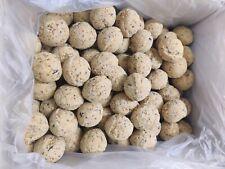 Premium Fat Balls 50 Pack - Suet High Energy Quality Feed Wild Garden Bird Food