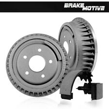 Rear Brake Drum & Shoes For 2005 2006 2007 2008 Chevy Silverado 1500 Sierra 1500