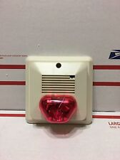 Amseco 2 tone horn with a Colored Light Select-A-Strobe Csh24W Wall Mount #2