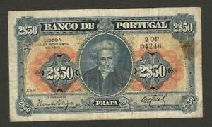 Portugal 2,50 Escudos 18.11.1925,P-127 RARE
