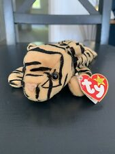 Vintage TY Beanie Babies Baby Retired RARE 1995 Stripes Tiger Cat Errors