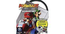 Platinum Nintendo GameCube Mario Kart Double Dash Bundle Great Shape Official