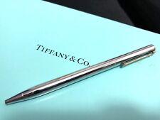 Authentic Tiffany & Co Silver T-Clip Original T Ballpoint Pen