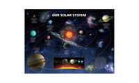 """OUR SOLAR SYSTEM  91 x 61 cm 36"""" x 24"""" POSTER x"""