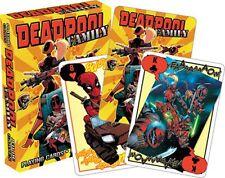 Marvel Deadpool famille Lot de 52 cartes à jouer jokers ) ( NM 52463)