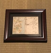 Framed Japanese Woodblock Print - Genpei Wars / Samurai Japan Ukiyoe
