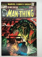 THE MAN-THING #4 MARVEL 1974 BRONZE AGE COMIC BOOK MAKING OF A MADMAN!