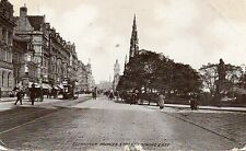 postcard Scotland  Midlothian Edinburgh Princess street looking east  posted