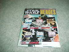 1997 Star Wars Heroes 20th Anniversary Poster Magazine w/Galaxy Insert Sealed