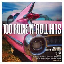 100 ROCK'ROLL HITS - ELVIS PRESLEY/CHUCK BERRY/BUDDY HOLLY/+  4 CD NEU