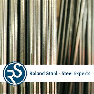 D 7mm Zuschnitt 250mm lang Silberstahl Rund 1.2210 DIN 175