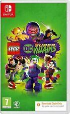 LEGO DC Super-Villains Super Villains Nintendo Switch New & Sealed Code in Box