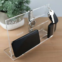 Fathers Day Personalised Engraved Watch Wallet Phone Keyring Desk Organiser